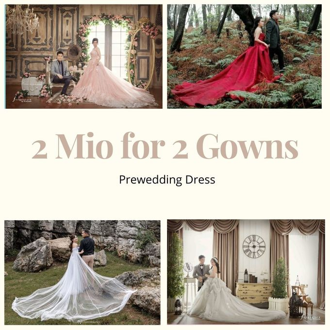 2 juta 2 Gown (Promo October) by iLook ( Makeup & Couture ) - 007