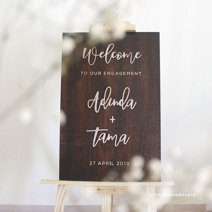 Wedding Sign by The White Dove - 005