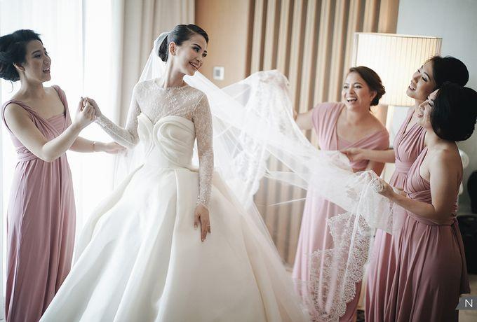 Dion Wiyoko & Fiona Wedding by Djampiro Band Bali - 007