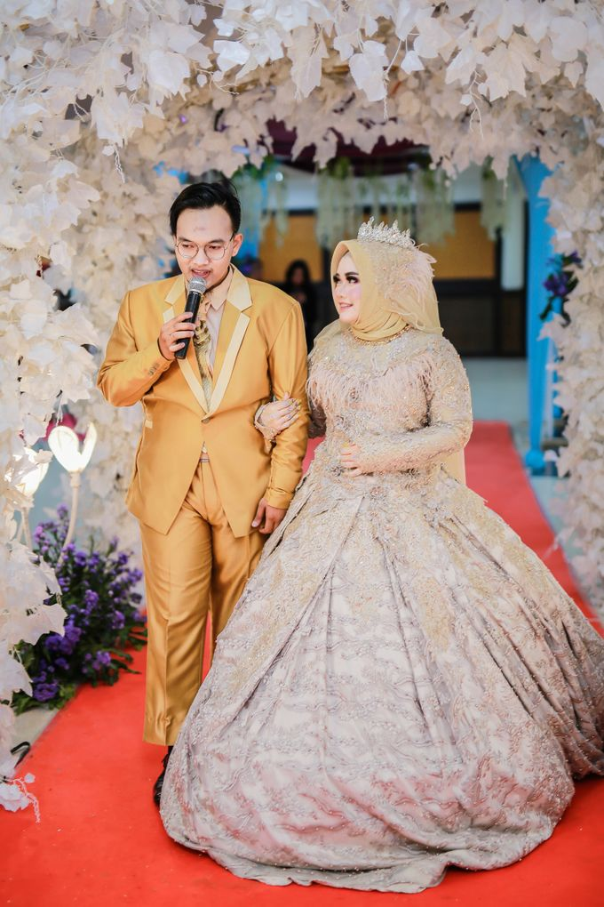 Wedding of Amrina & Farid by Rashdan Planner - 017