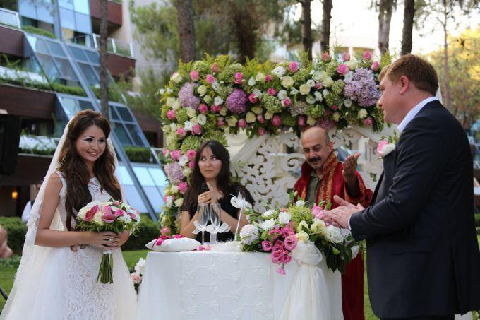 Tatyana & Vladimir Kazakh Wedding in Antalya by Wedding City Antalya - 008
