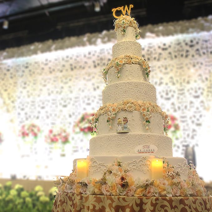 New Wedding Cake 2018 by RR CAKES - 003