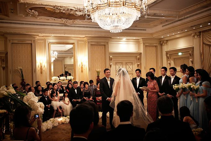 Real Wedding of Victor & Vivien by Luxe Paris Events - 012