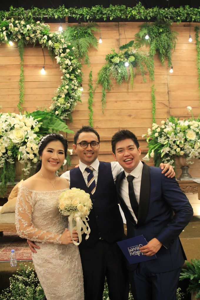 MC Wedding Financial Club Jakarta - Anthony Stevven by Financial Club Jakarta - 009