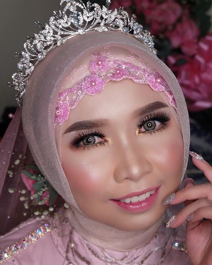 Wedding project by Zilla_dr make up - 006