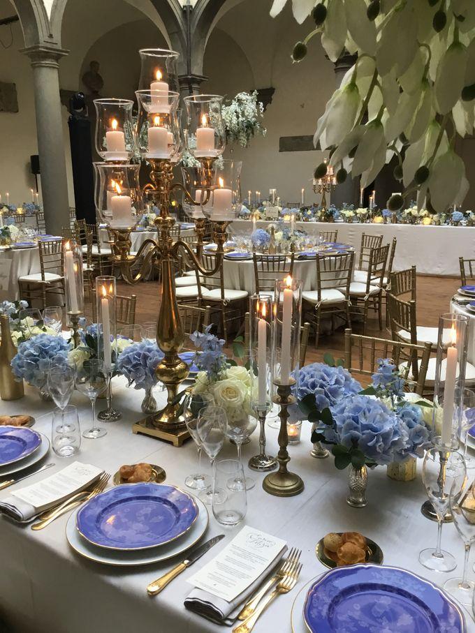 A blue wedding by C&G Wedding and Event Designer - 011