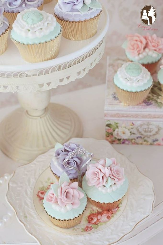 Wedding Cupcakes by Creme de la Creme Bali - 001