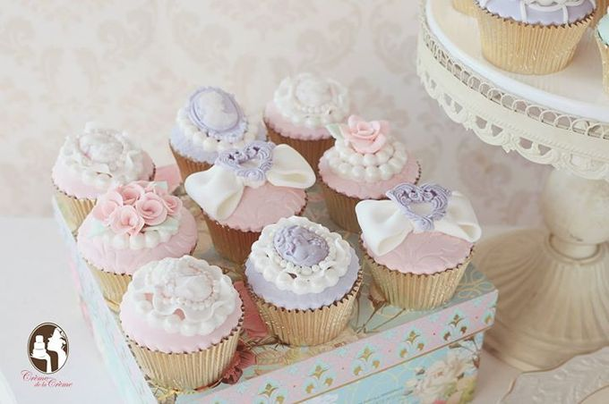 Wedding Cupcakes by Creme de la Creme Bali - 002