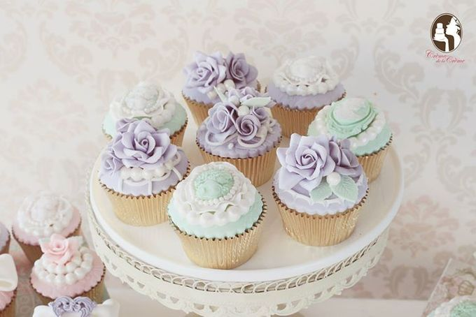 Wedding Cupcakes by Creme de la Creme Bali - 004