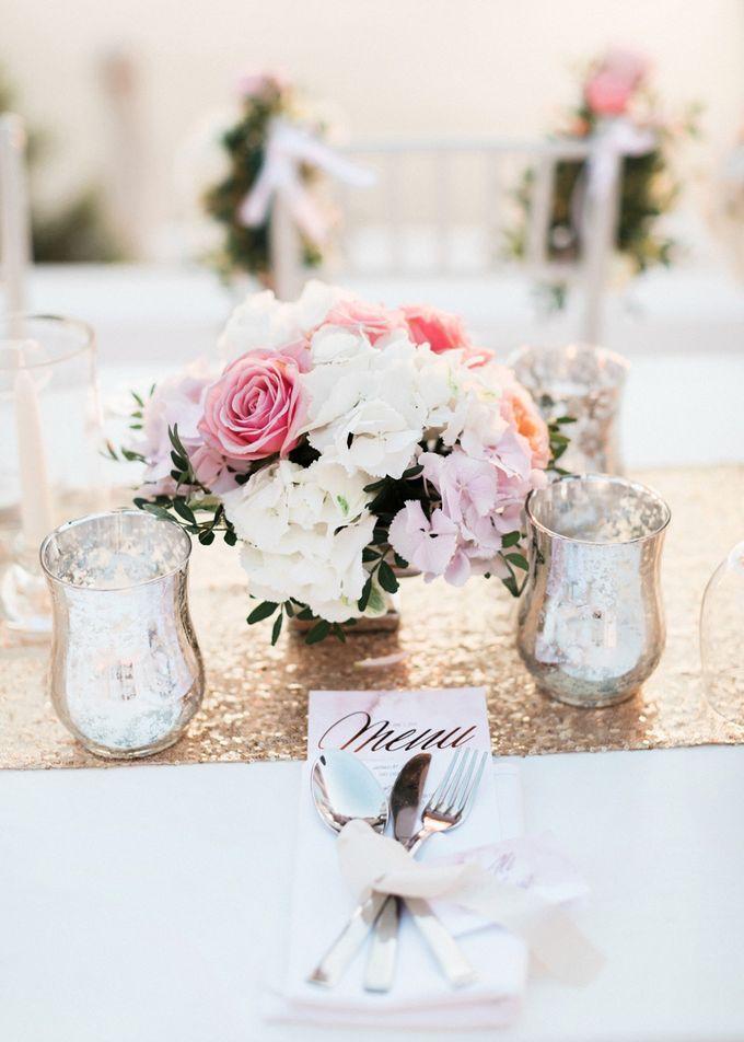Dusty Pink Dream Wedding in Santorini by Stella & Moscha Weddings - 035