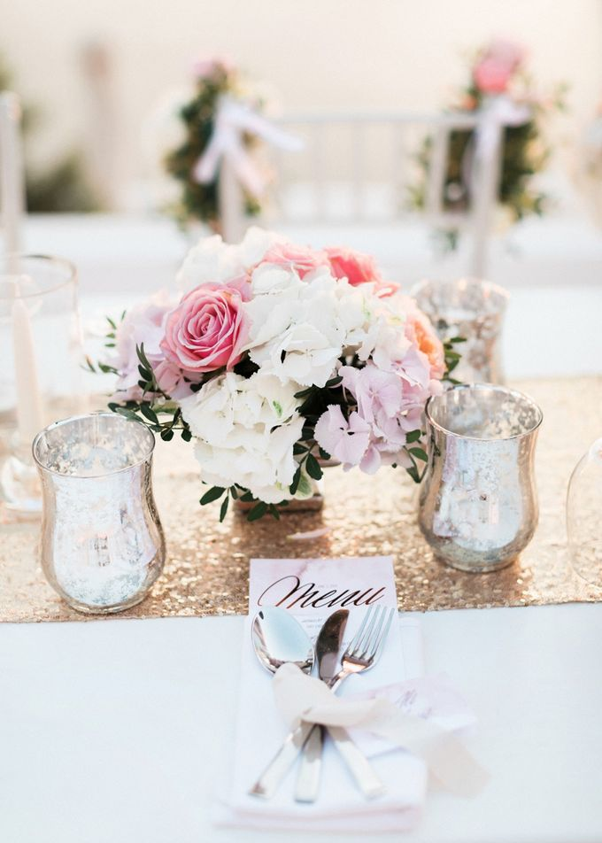 Dusty pink wedding for the sweetest couple by Stella & Moscha Weddings - 027