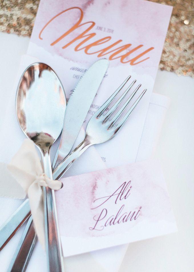 Dusty Pink Dream Wedding in Santorini by Stella & Moscha Weddings - 036