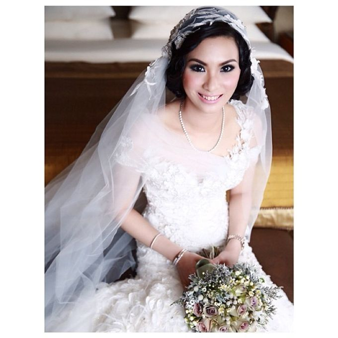 Beautiful Bride by DONNY LIEM The Make Up Art - 011