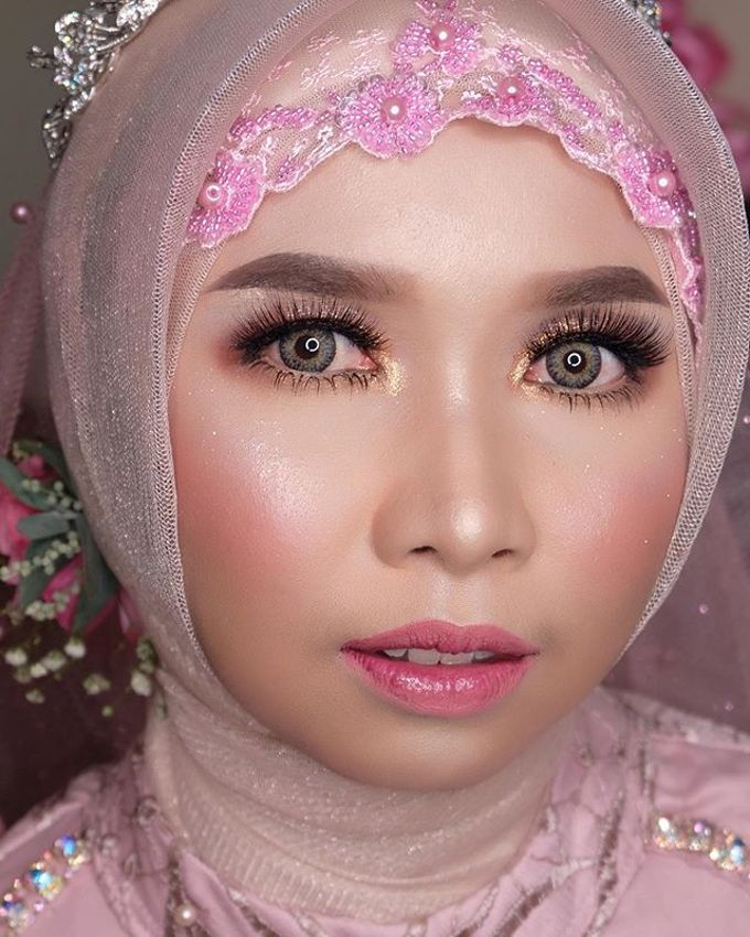 Wedding project by Zilla_dr make up - 005