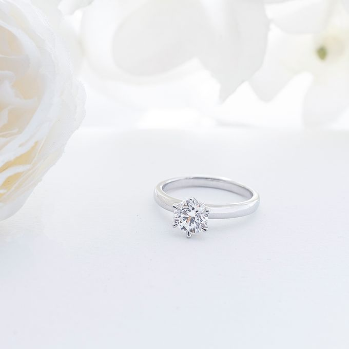 Engagement Ring by THE PALACE Jeweler - 015