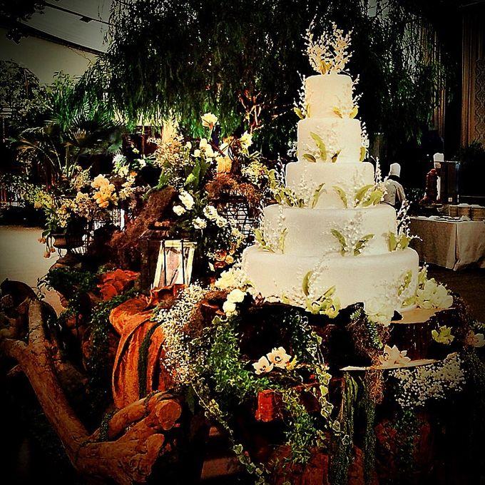 5 layers Wedding Cakes by LeNovelle Cake - 019
