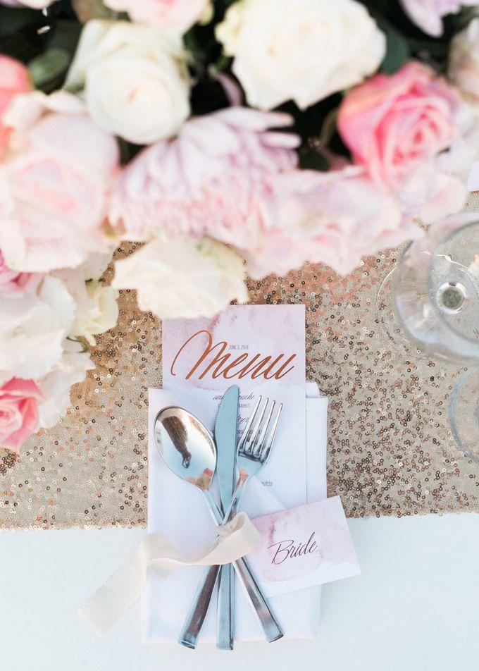 Dusty Pink Dream Wedding in Santorini by Stella & Moscha Weddings - 037