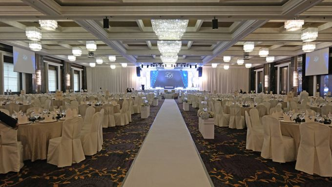 Sparkling Theme Wedding by ZURIEE AHMAD CONCEPTS SDN BHD - 006