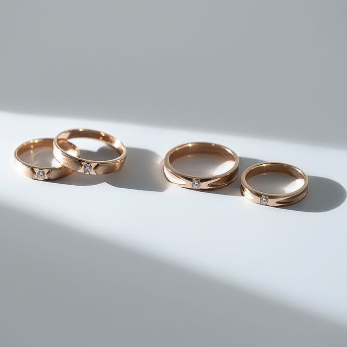 Wedding Ring Collection by THE PALACE Jeweler - 001