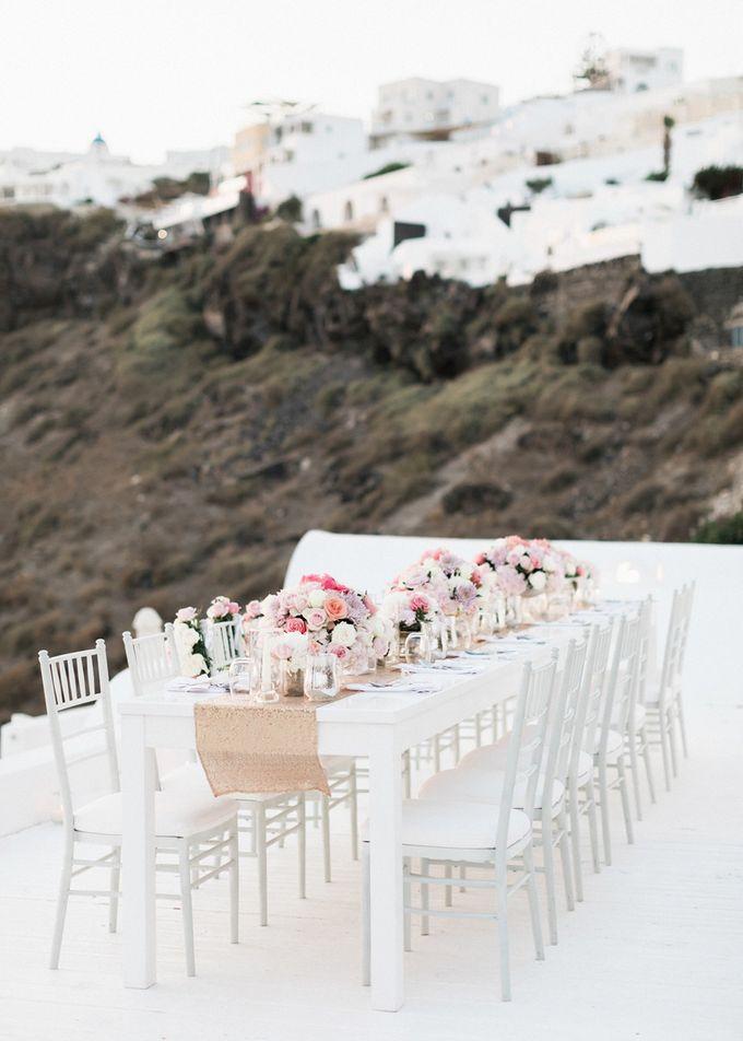 Dusty Pink Dream Wedding in Santorini by Stella & Moscha Weddings - 038