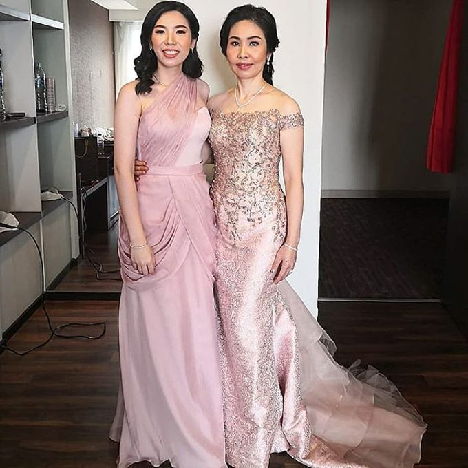 Mom  and sister gown by SAVORENT Gown Rental - 018