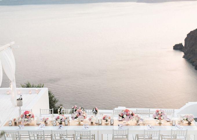 Dusty Pink Dream Wedding in Santorini by Stella & Moscha Weddings - 039
