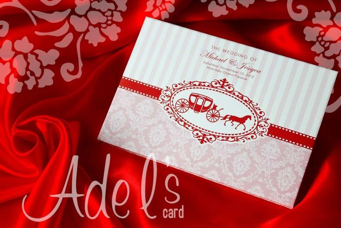 Two Pieces Hard Cover by Adel's House of card - 006