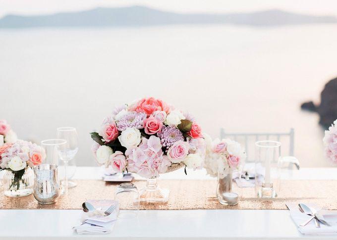 Dusty Pink Dream Wedding in Santorini by Stella & Moscha Weddings - 040