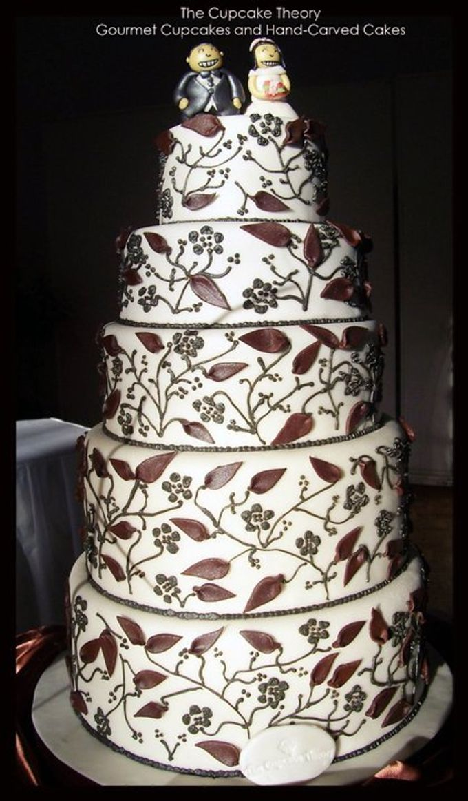 Wedding Cakes by The Cupcake Theory - 004
