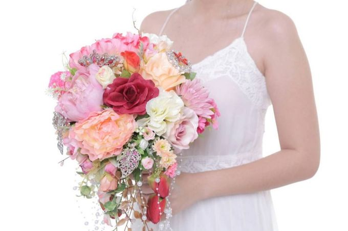 ENCHANTED WEDDING BOUQUET by LUX floral design - 006