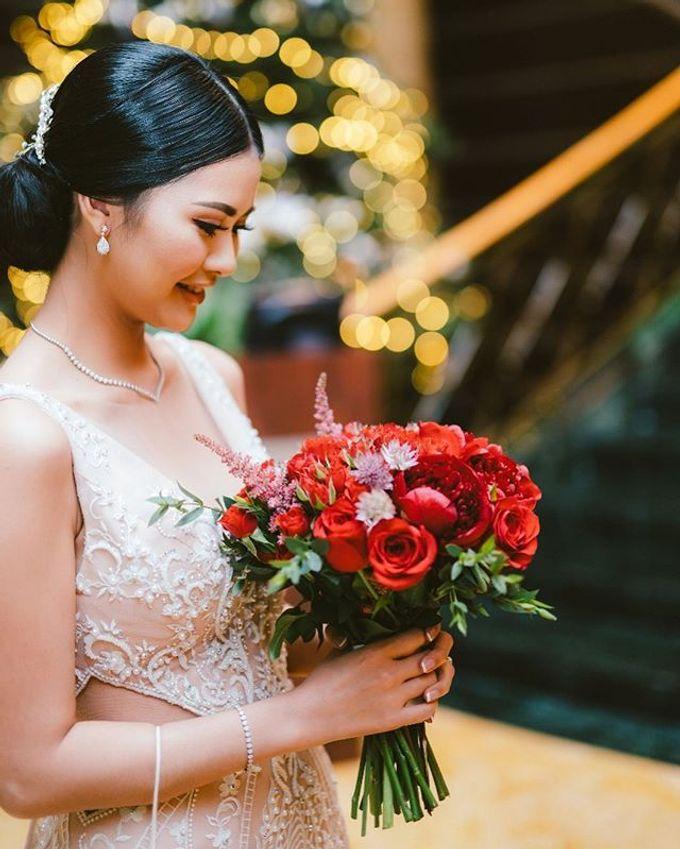 Mun Kah Loon & Bella Wedding by Sisca Zh - 001