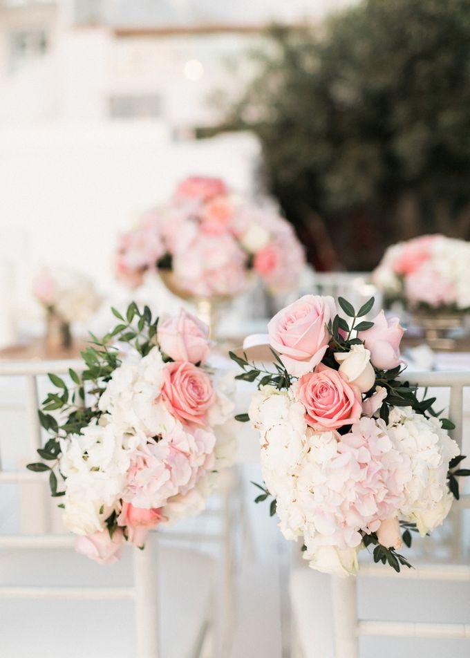 Dusty Pink Dream Wedding in Santorini by Stella & Moscha Weddings - 042