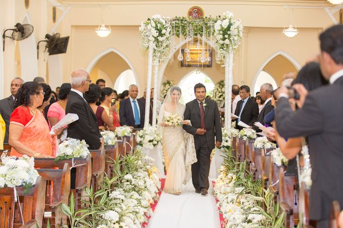 Wedding of Roshani & Charith by DR Creations - 041