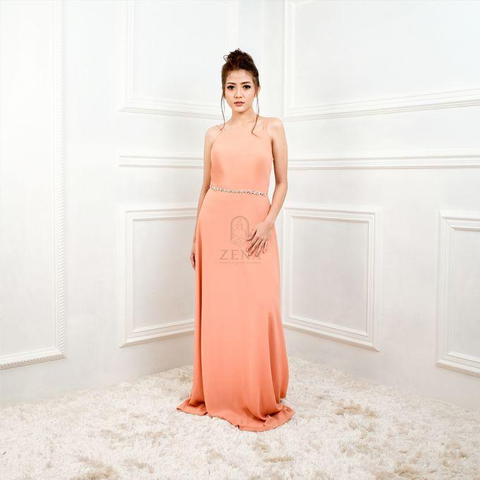 921442a93405 Add To Board Simple Peach Dress by Zena - 001