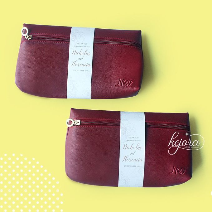 Pouch Top Zipper Plus Depth by Kejora Gift & Souvenir - 003