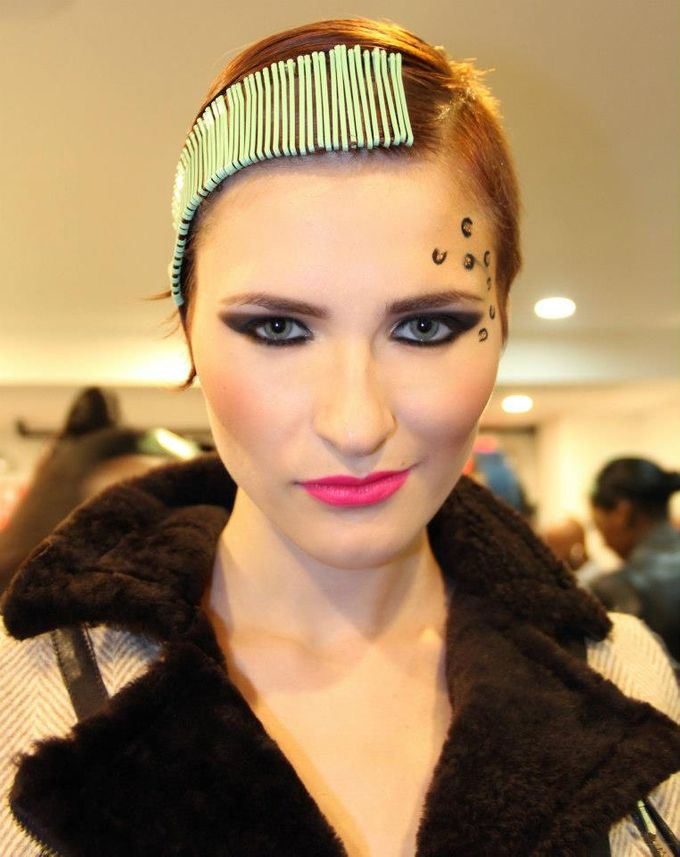 New York Fashion Week by Elza Finishya Makeup Artist - 010