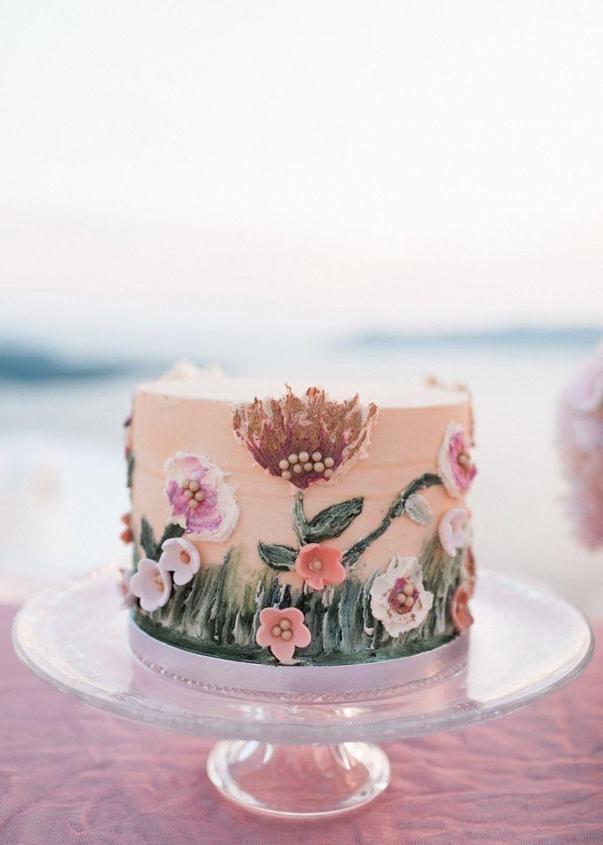 Dusty Pink Dream Wedding in Santorini by Stella & Moscha Weddings - 045