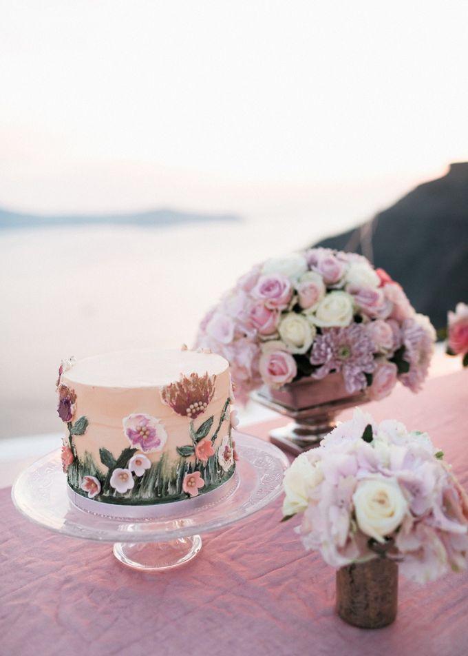 Dusty Pink Dream Wedding in Santorini by Stella & Moscha Weddings - 046