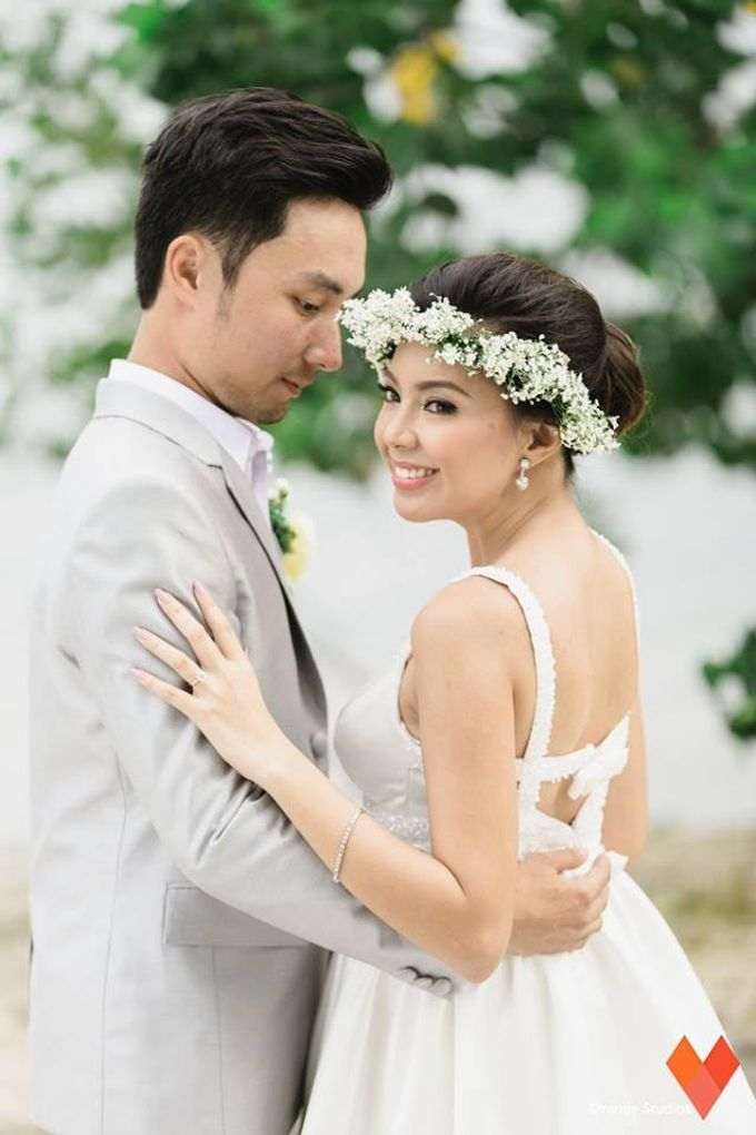 BJ and Carine by Melody Tinoy Makeup Artist - 002
