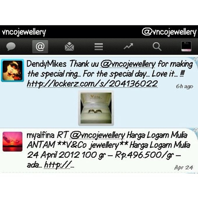 testimoni & review customer by V&Co Jewellery - 009