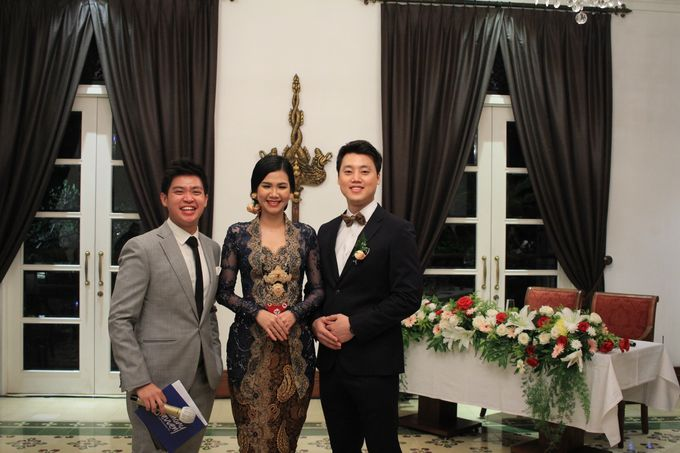MC Wedding Intimate Plataran Menteng Jakarta - Anthony Stevven by THE PALACE Jeweler - 012