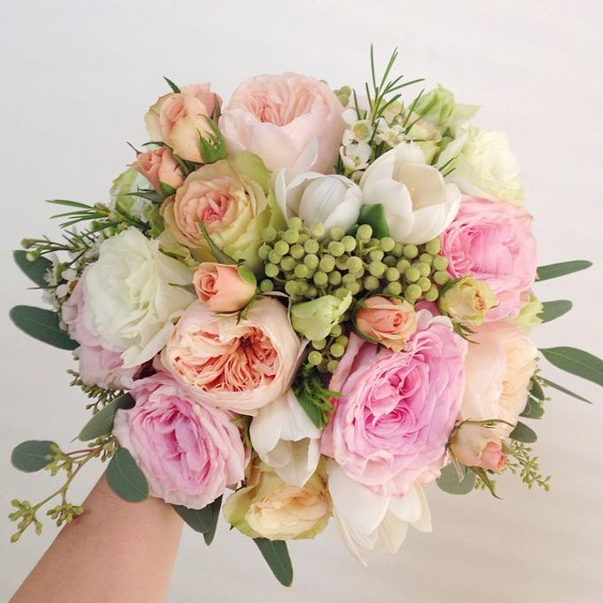 Wedding Bouquet by Twigs and Twine - 007