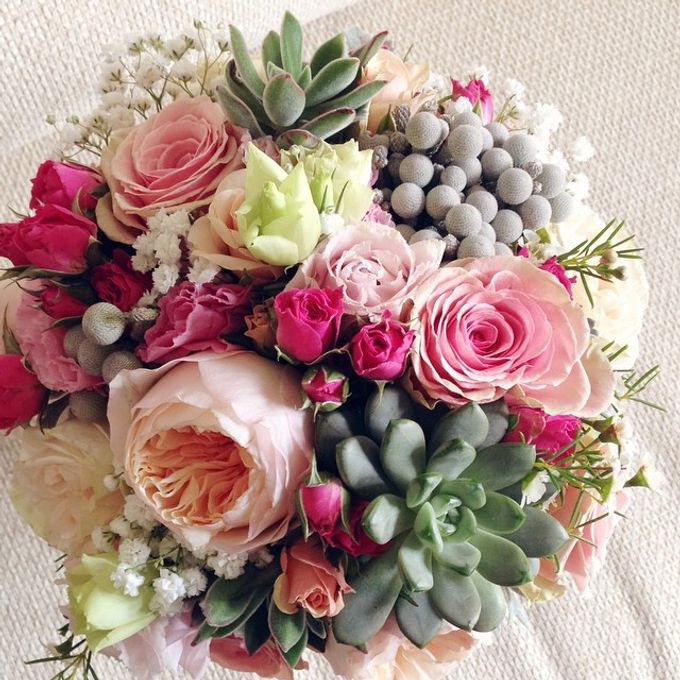 Wedding Bouquet by Twigs and Twine - 008