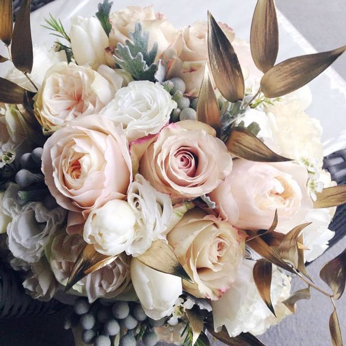 Wedding Bouquet by Twigs and Twine - 009
