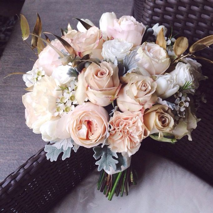 Wedding Bouquet by Twigs and Twine - 010