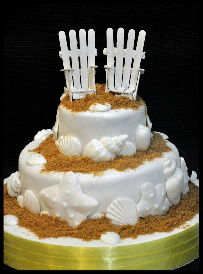 Wedding Cakes by The Cupcake Theory - 005