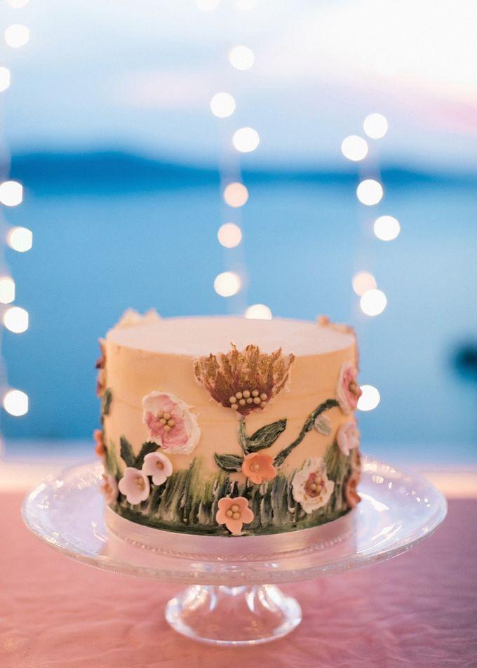 Dusty Pink Dream Wedding in Santorini by Stella & Moscha Weddings - 048