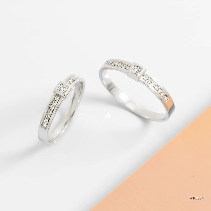 Wedding Ring WR0224 by V&Co Jewellery - 001