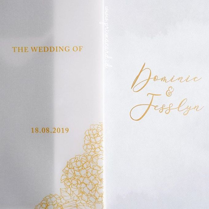 Wedding of Dominic & Jesslyn by Prima Card - 002