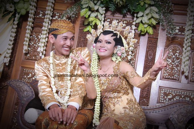 Pengantin Jawa by Puri Matahari Rias Pengantin - 007
